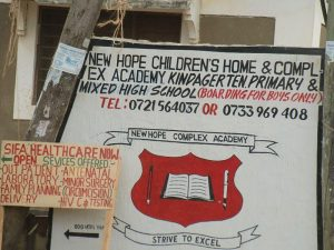 New Hope Childrens centre and Primary School Mombasa