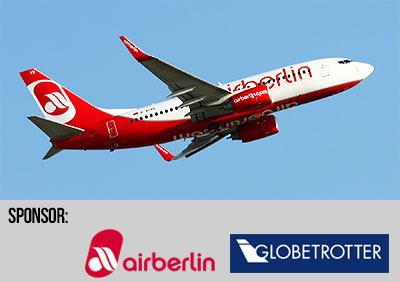 Airberlin och Globetrotter sponsrar New Hopes adventskalender