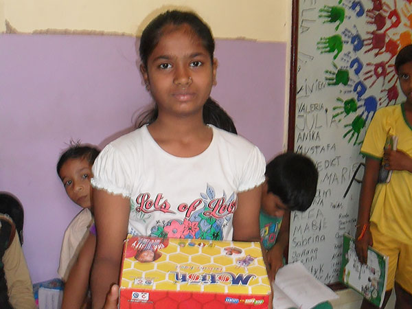 En flicka i project sunshine