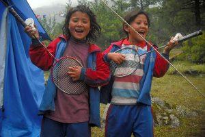 Barn i Humla