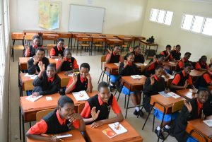 Klassrum Starehe Nairobi