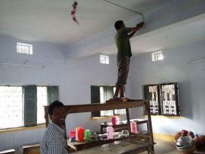 Taket i Theodori skolan