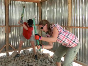 Arbete med att bygga upp Kiotani