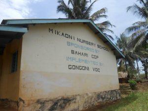 Mikaoni Nursery School Kenya