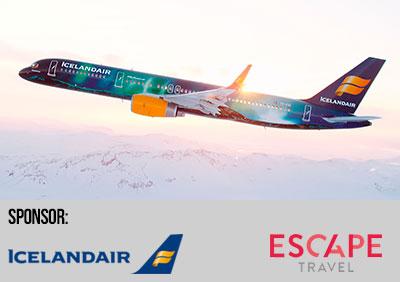 Icelandair och Escape Travel sponsrar New Hopes adventskalender