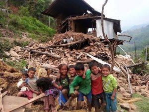Jordbävning Nepal 2015