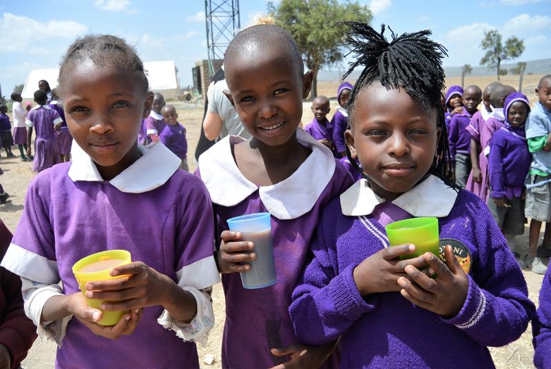 Elever i Kiotani skolan Kenya