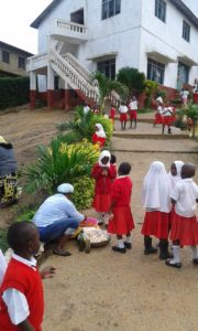 New Hope skolan i Mombasa