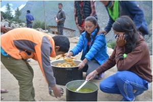Nepal Humla matservering