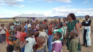 Kenya Kiotani Skolan Samling