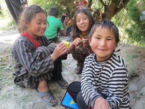 Barnen i Humla