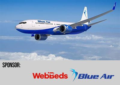 WebBeds och Blue Air
