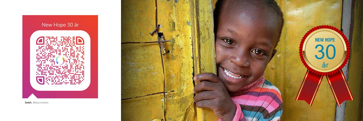 New Hope barnfond 30 år