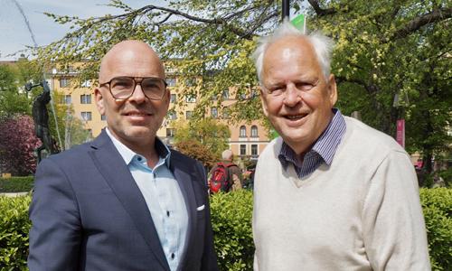 Magnus och Göran Linder