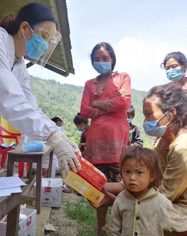 Matpaket till Nepal