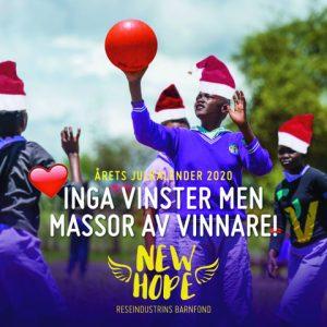 Julkalender New Hope 2020